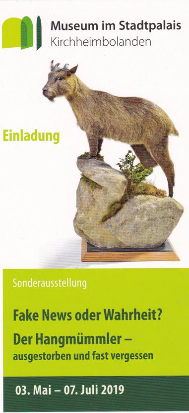 Claus Maywald Hangmümmler Ausstellung Kirchheimbolanden